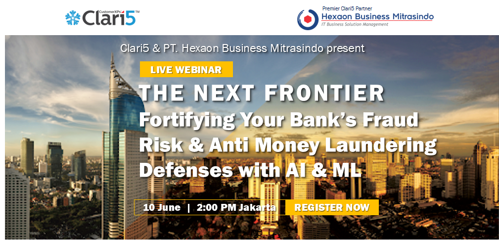 Fortifying Your Bank's Fraud Risk & Anti Money Laundering Defenses with AI & ML, Jakarta